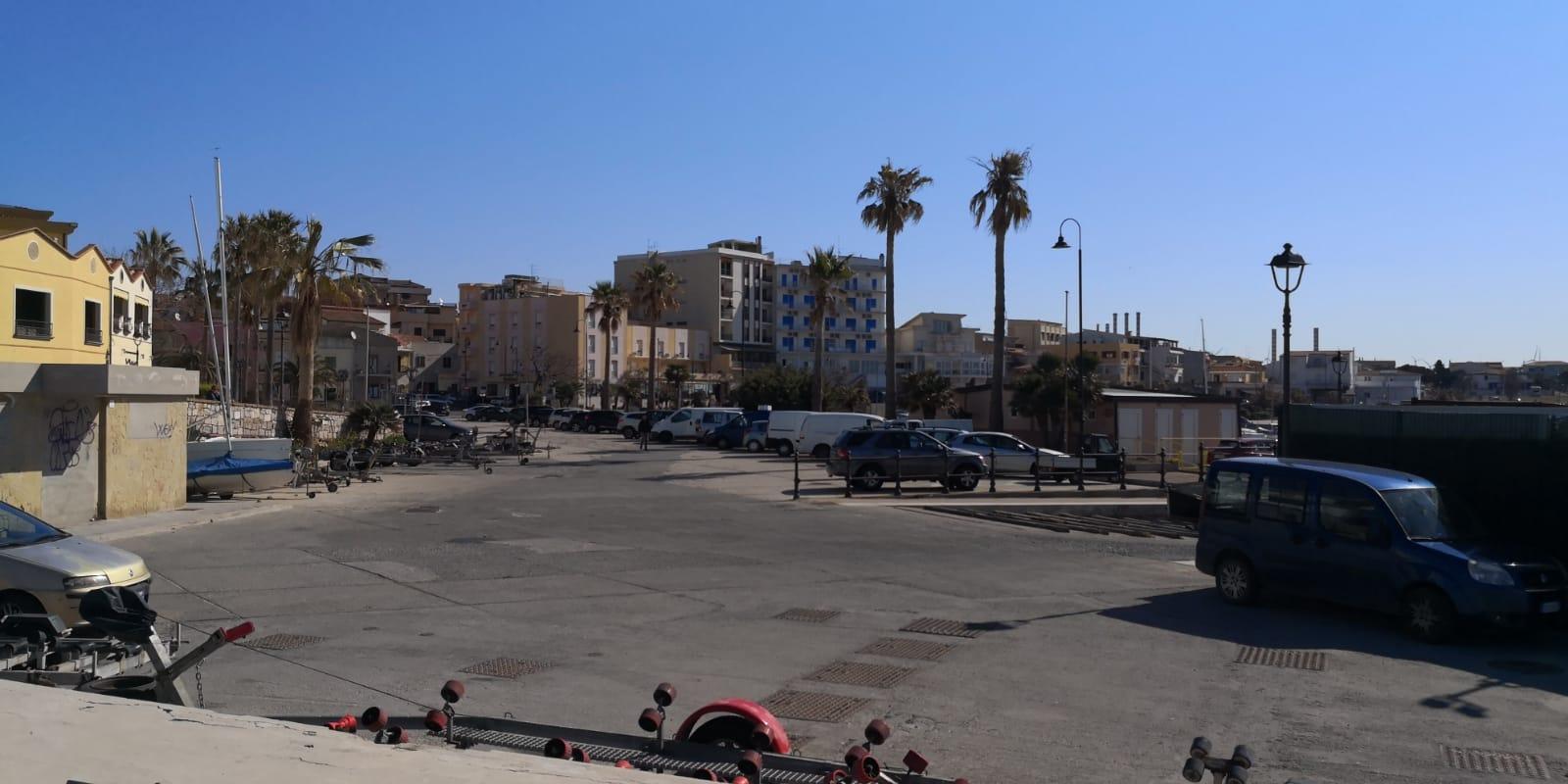 Nuova area camper a Portoscuso in Sardegna - cittadina