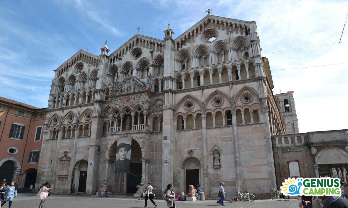 Ferrara in camper - Cattedrale Ferrara