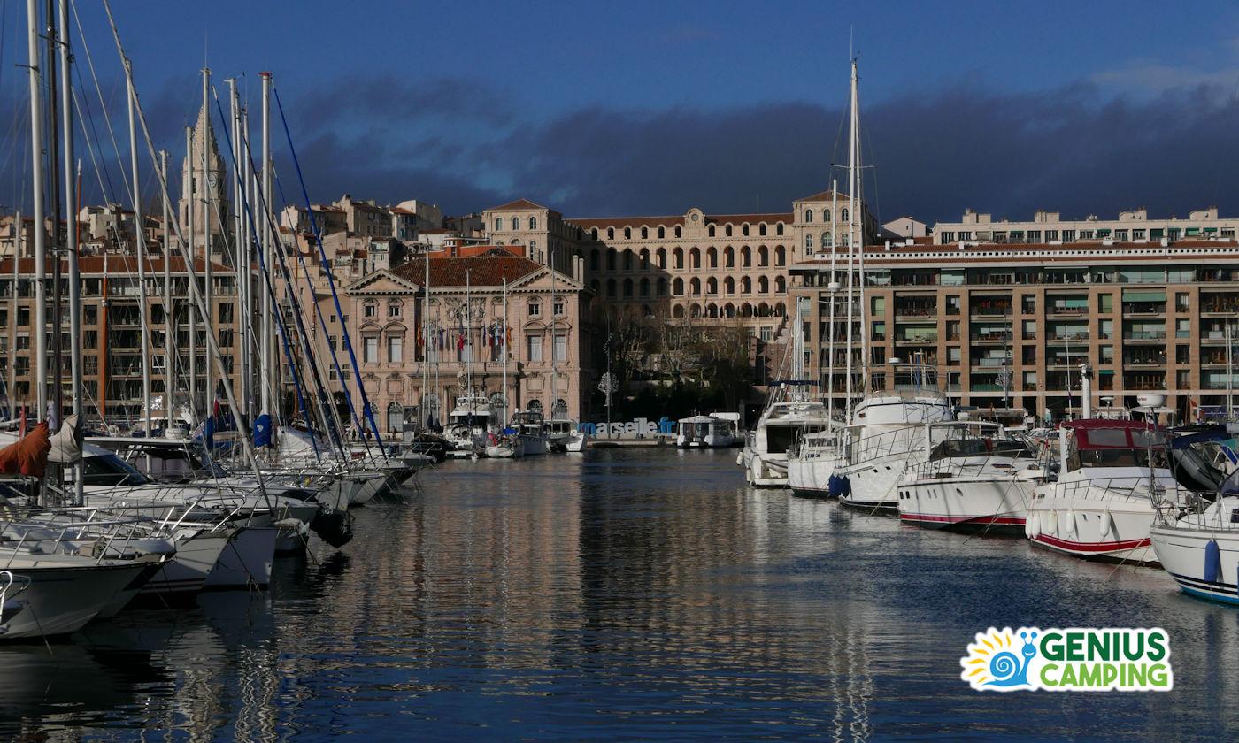 Marsiglia in camper - Vieux Port copertina