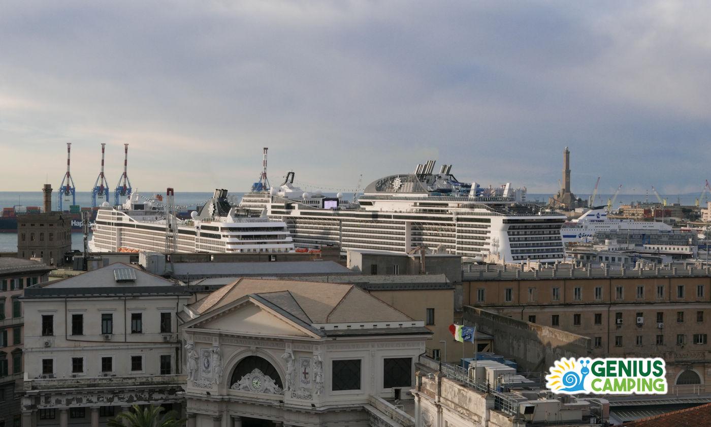 Turismo itinerante in Crociera - Navi a confronto