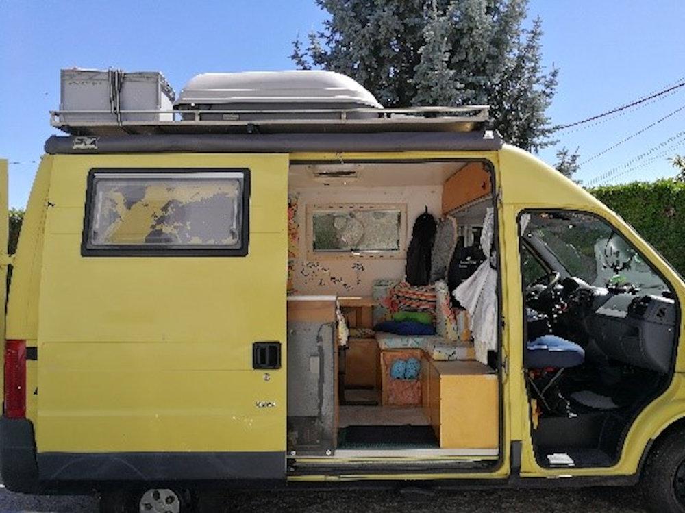 Trasformare un camion in un camper