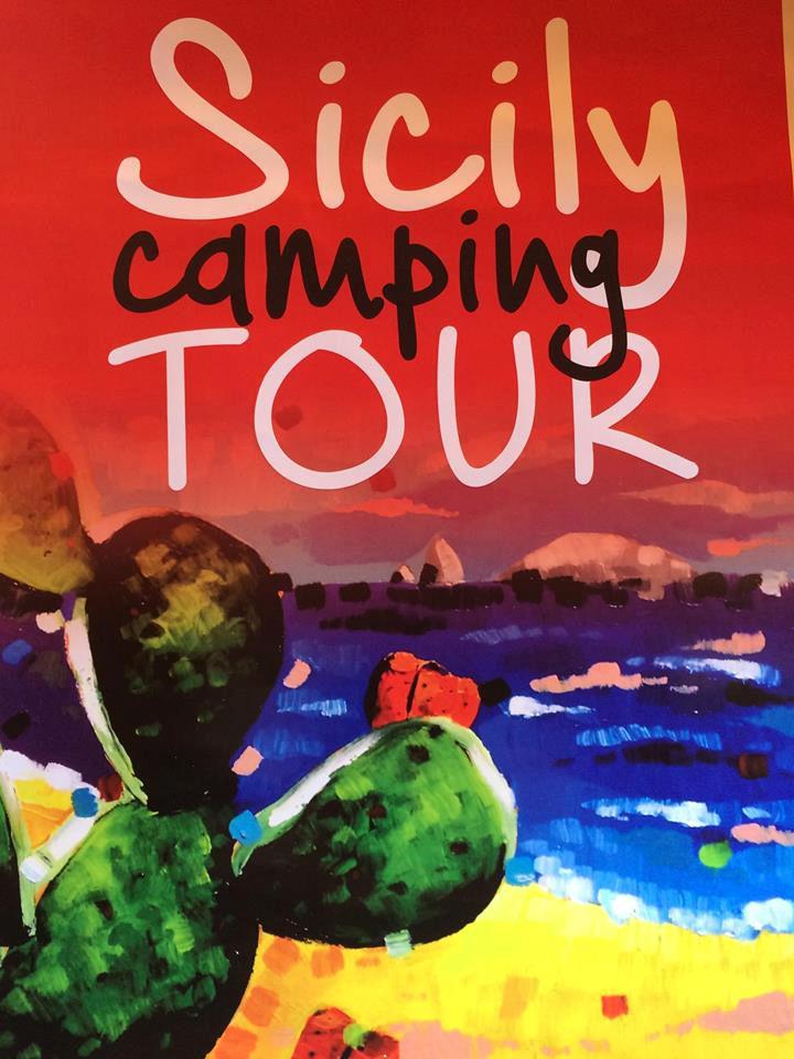 Sicily Camping Tour - Locandina