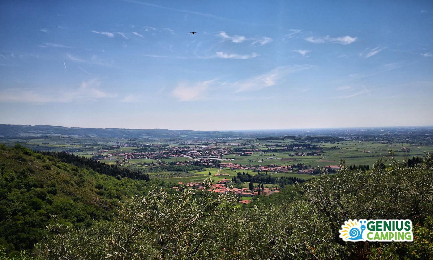 Cosa vedere in Valpolicella - Copertina vista sulla Valpolicella