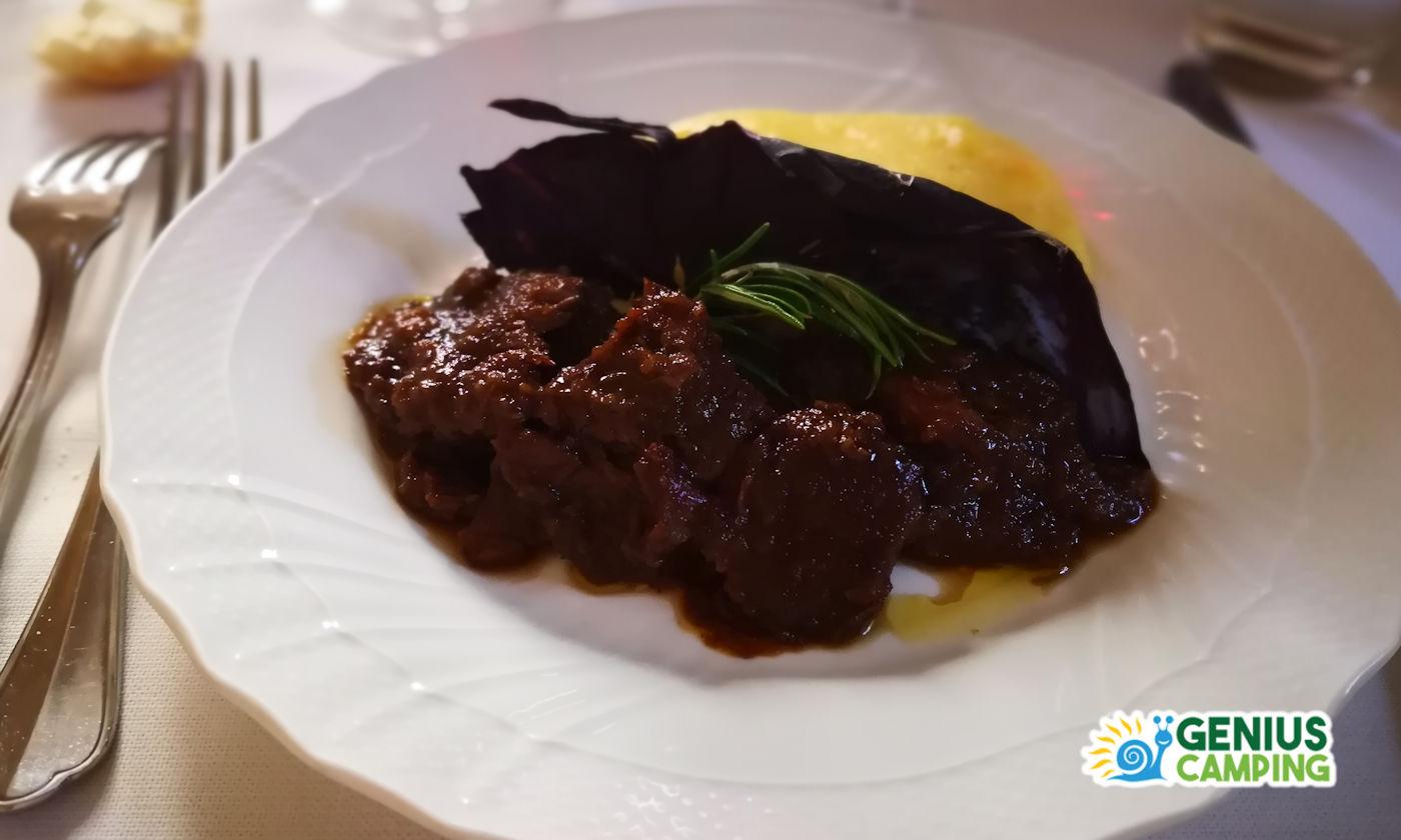 Cosa vedere in Valpolicella - Piatto tipico polenta valpolicella