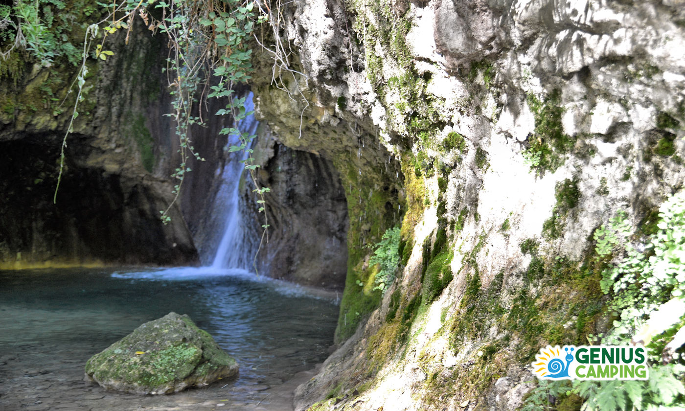 Parco delle cascate di Molina in Valpolicella - Copertina