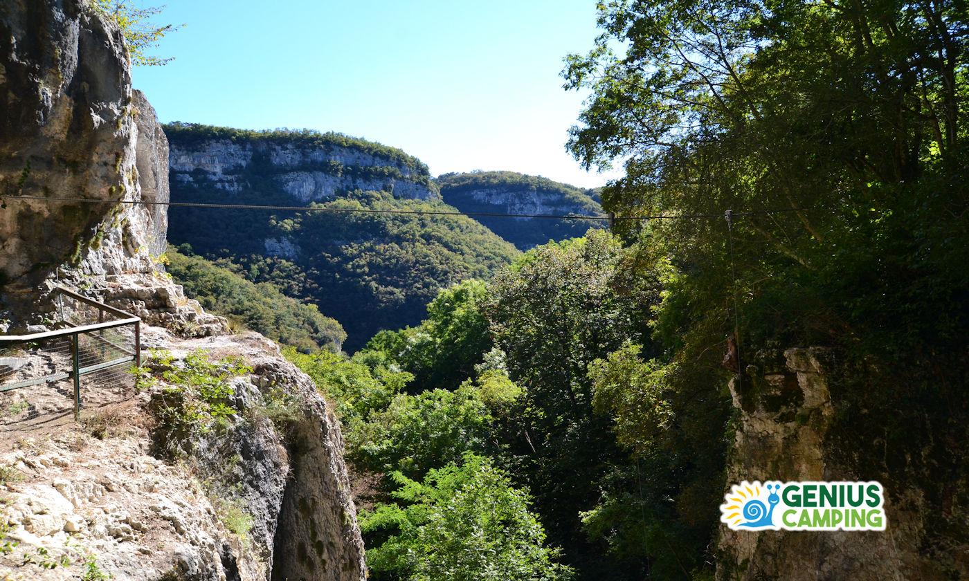 Parco delle cascate di Molina in Valpolicella - Panorama