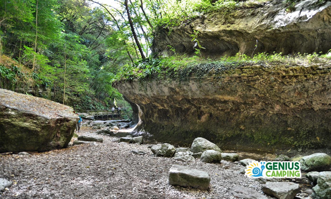 Parco delle cascate di Molina in Valpolicella - Percorso