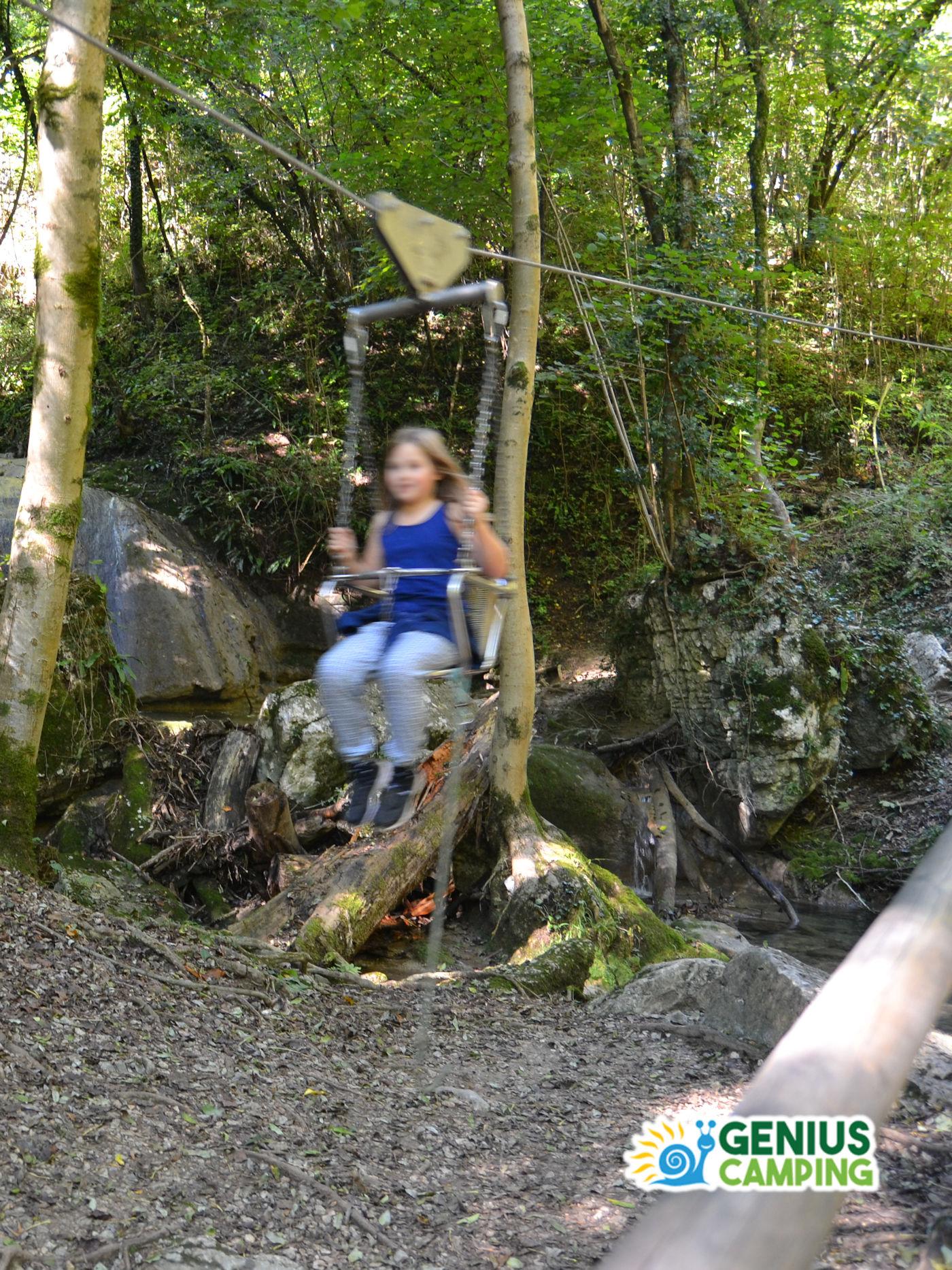 Parco delle cascate di Molina in Valpolicella - Teleferica