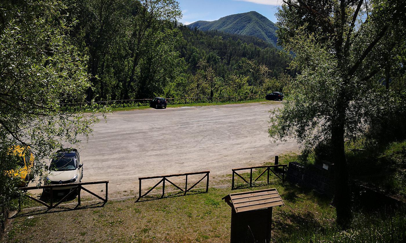 Parco storico di Monte Sole-Parcheggio