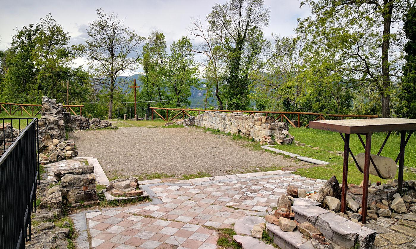 Parco storico di Monte Sole - Borgo e chiesa di San Martino