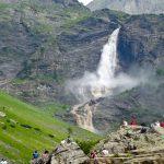 Valbondione e le cascate del Serio in camper