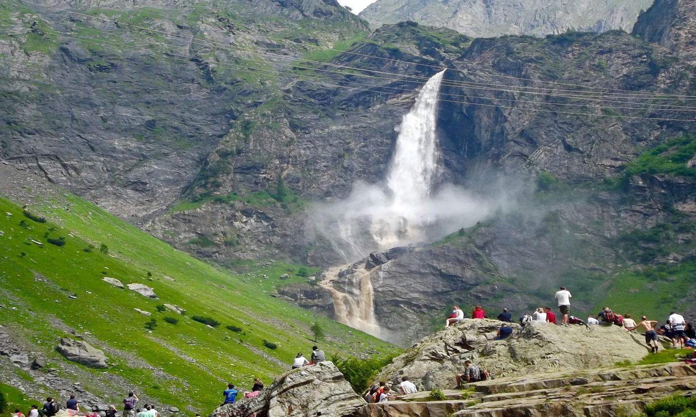 Valbondione e le cascate del Serio in camper - Copertina