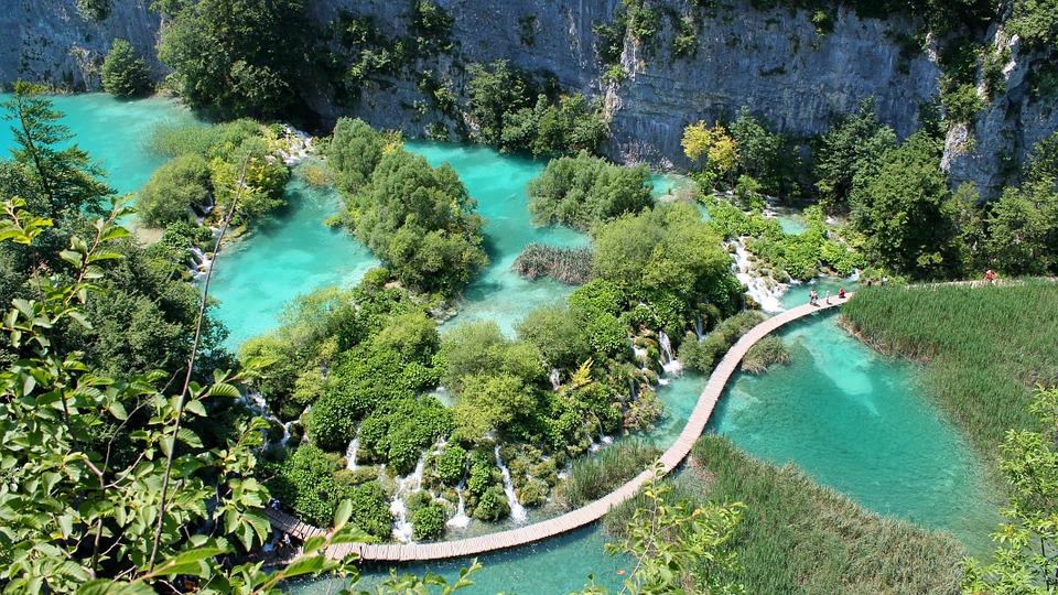 Croazia in camper consigli pratici - Laghi di plivitce