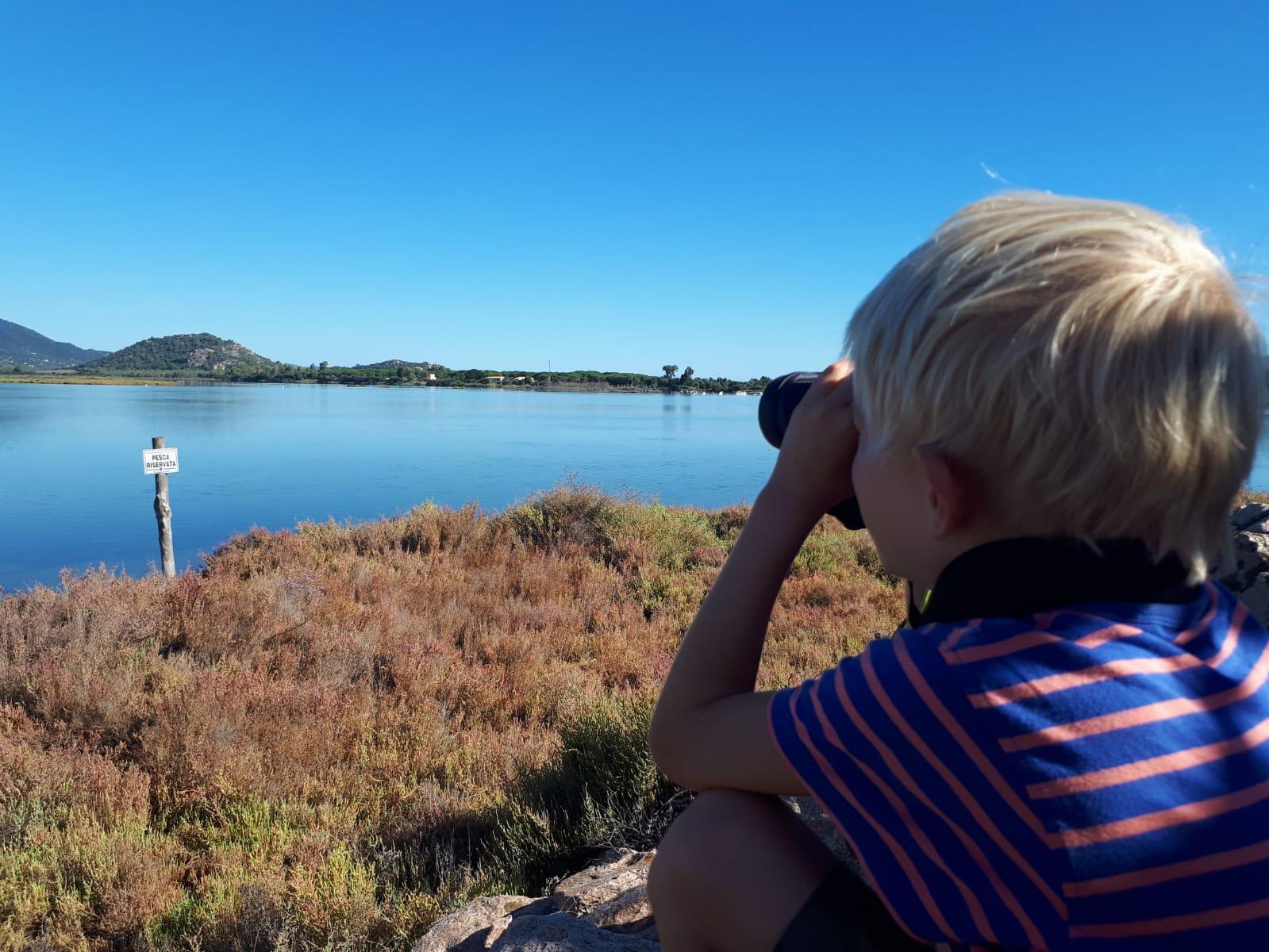 Settimane Sarde al Camping Capo Ferrato in Sardegna birdwatching
