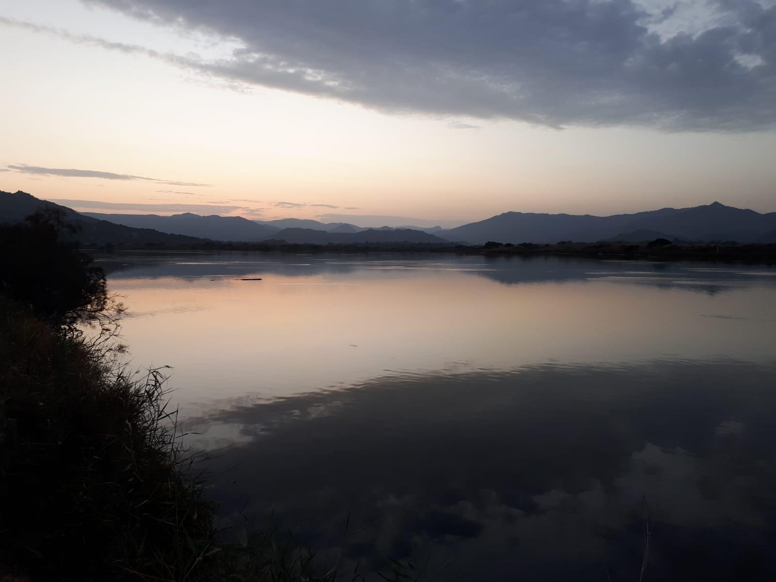 Settimane Sarde al Camping Capo Ferrato in Sardegna tramonto