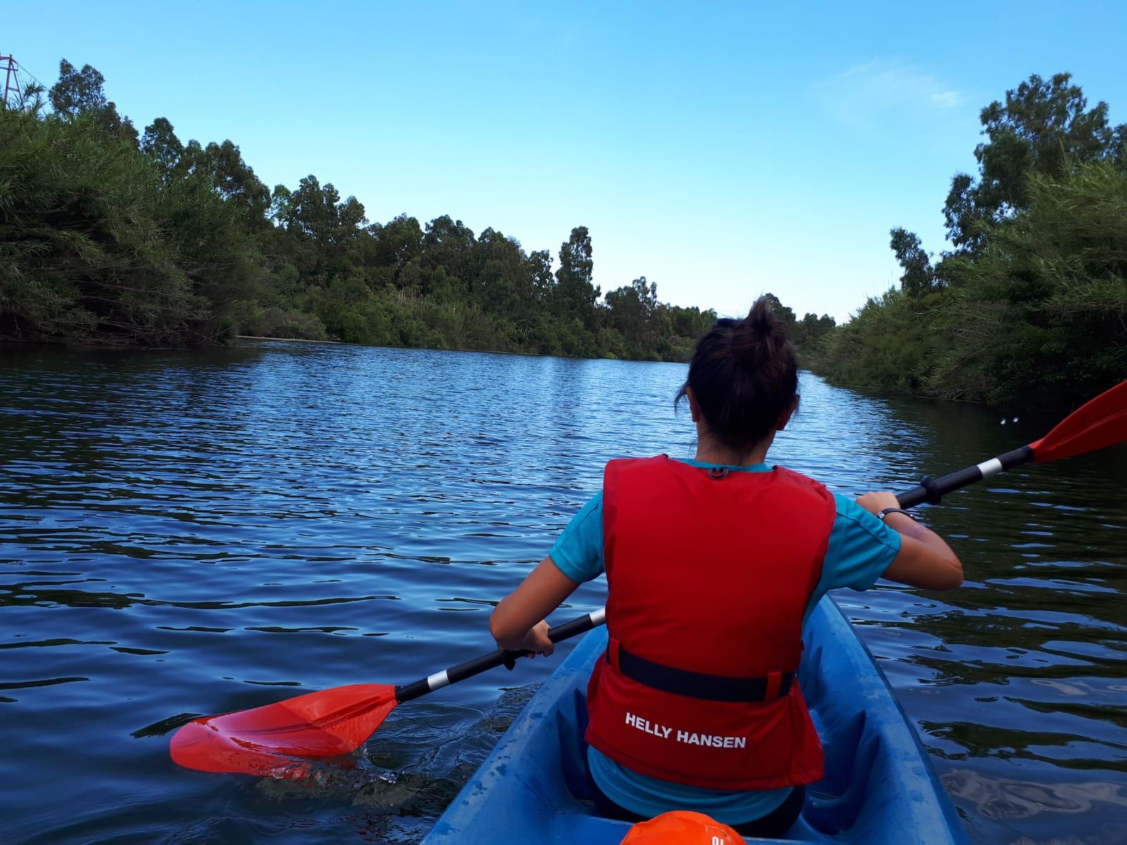 Settimane Sarde al Camping Capo Ferrato in Sardegna in kayak sul Flumendosa
