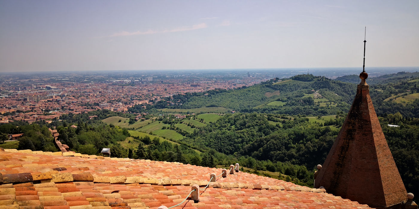 Il santuario di San Luca - Terrazzo san luca sky experience