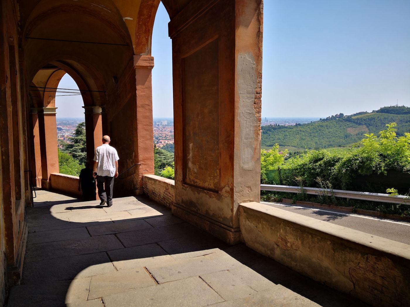 Il santuario di San Luca - portico