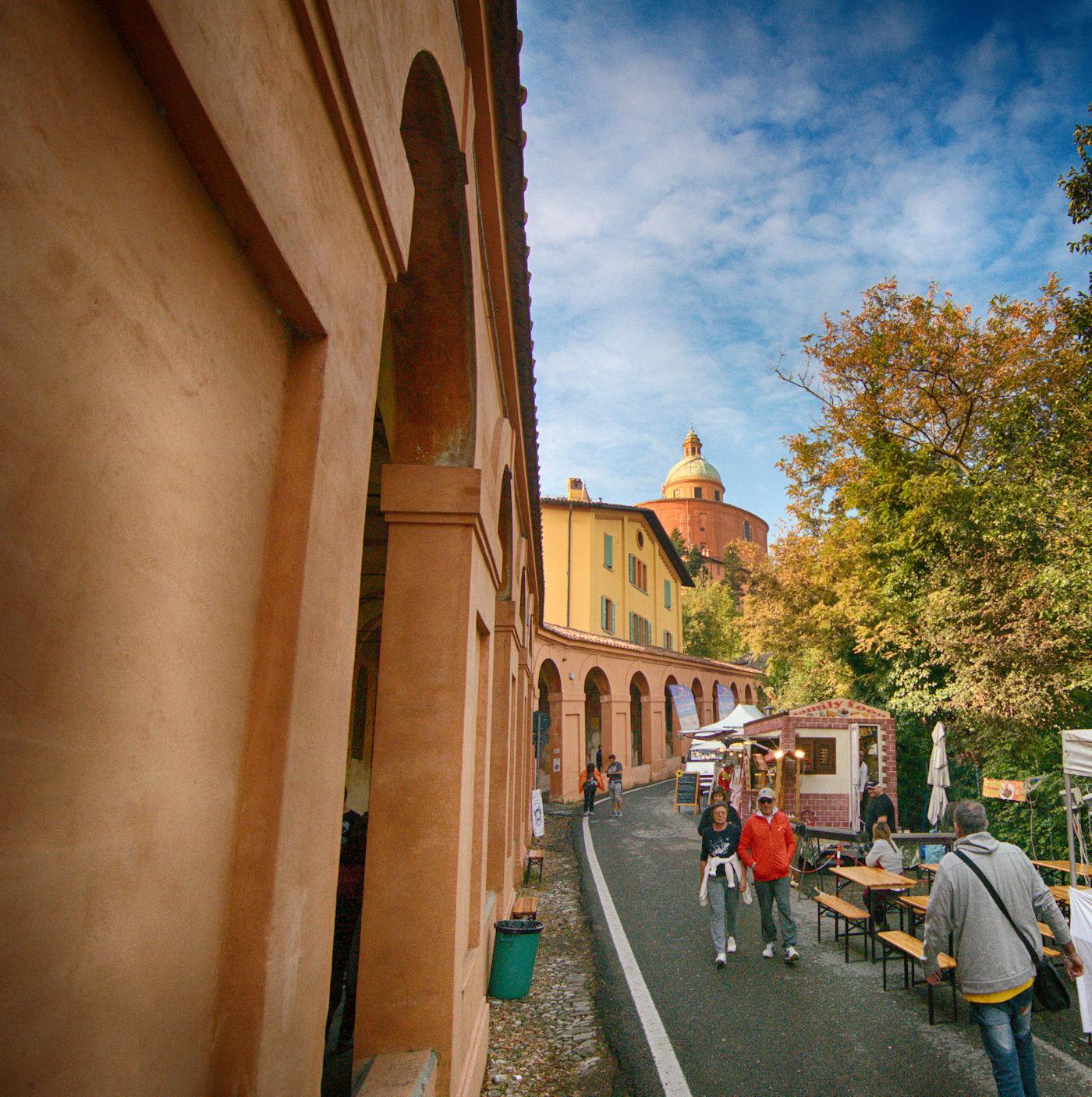 Il santuario di San Luca - Portici