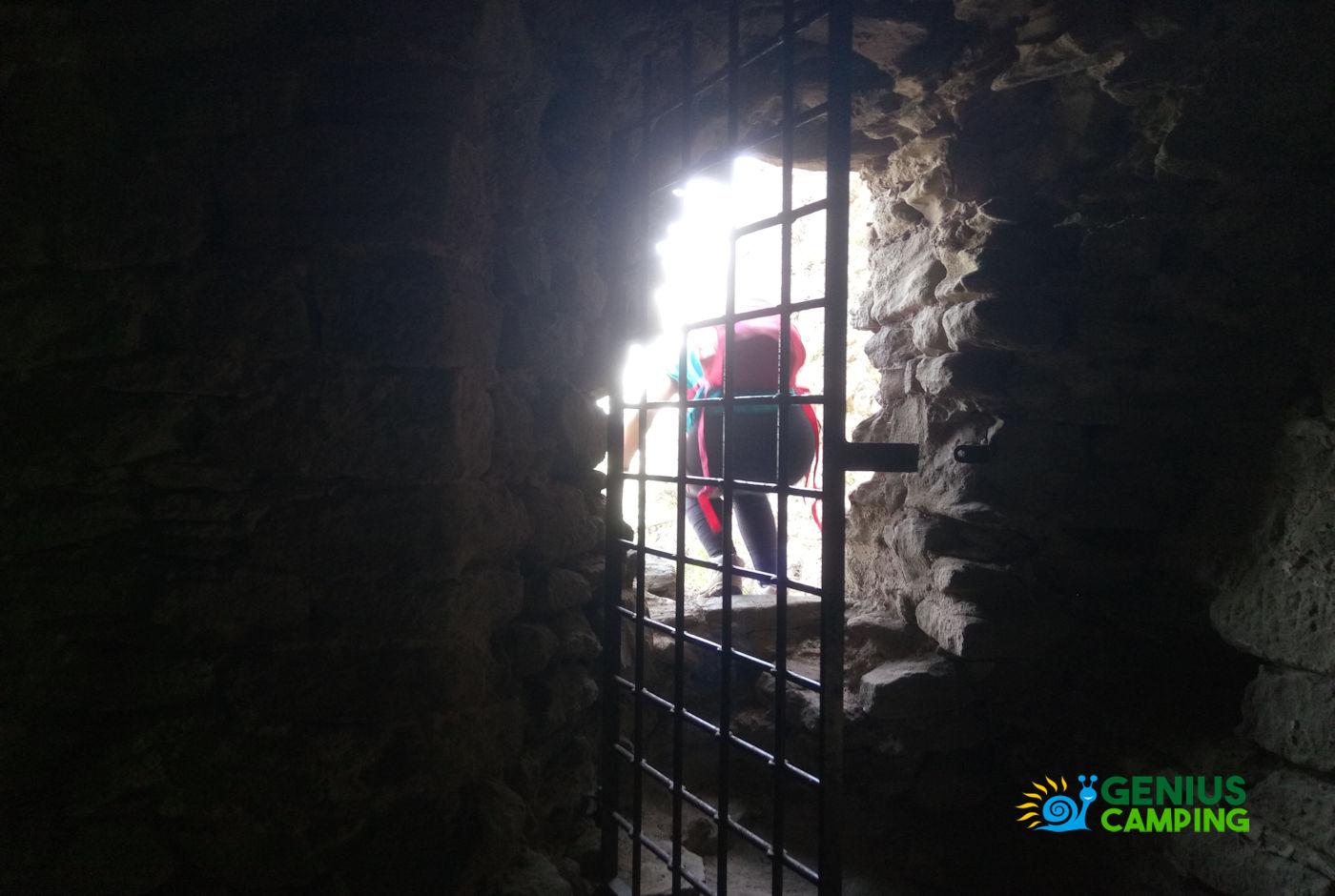 Valmarecchia e Montefeltro La rocca di Maioletto - Accesso alla rocca di Maioletto