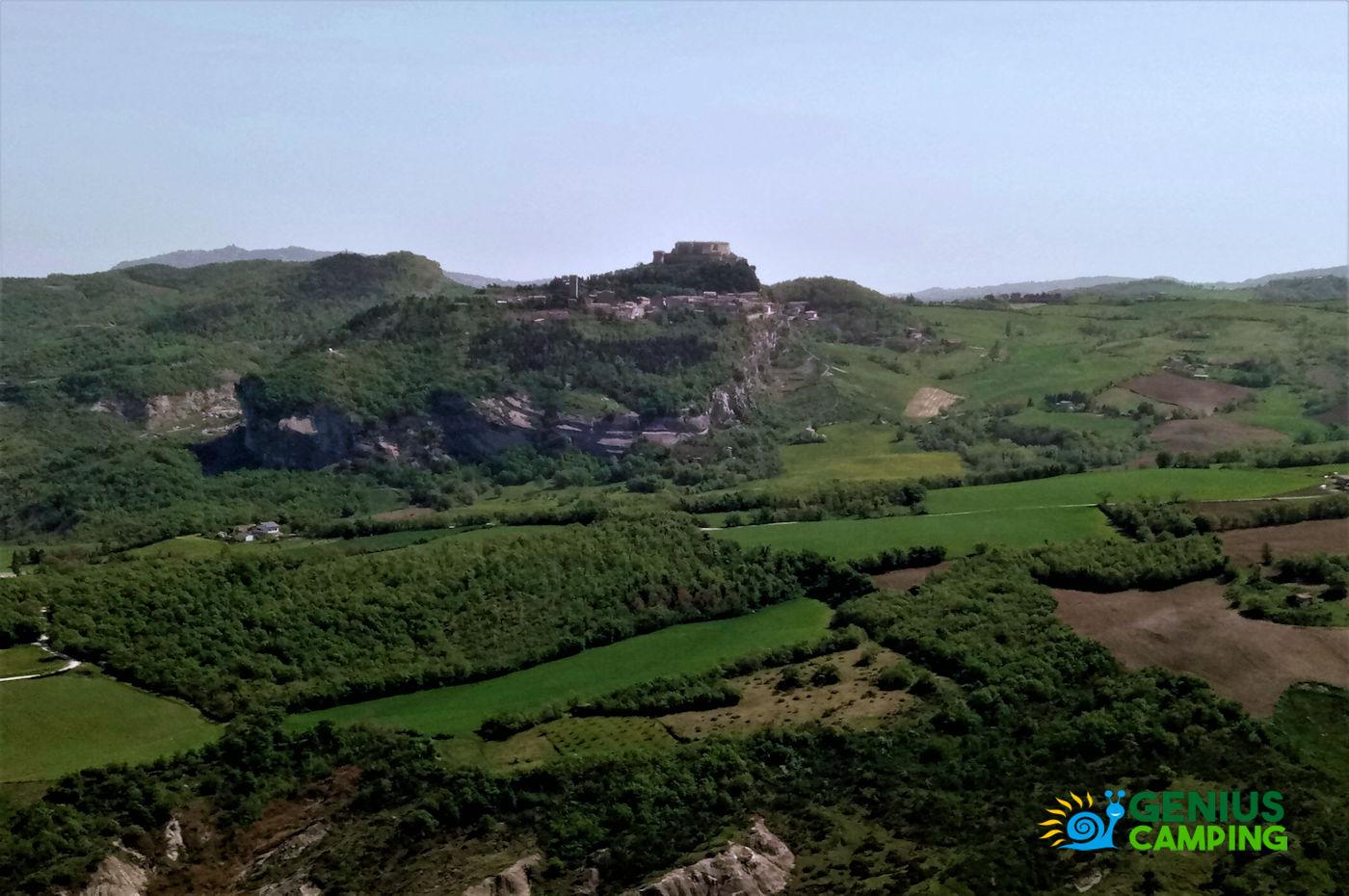 Valmarecchia e Montefeltro La rocca di Maioletto - San Leo