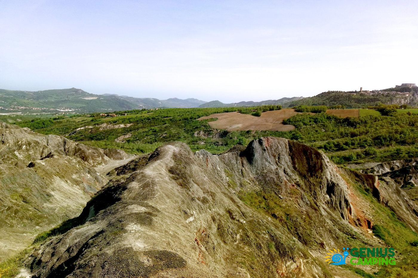 Valmarecchia e Montefeltro La rocca di Maioletto - Sentiero Maioletto 3