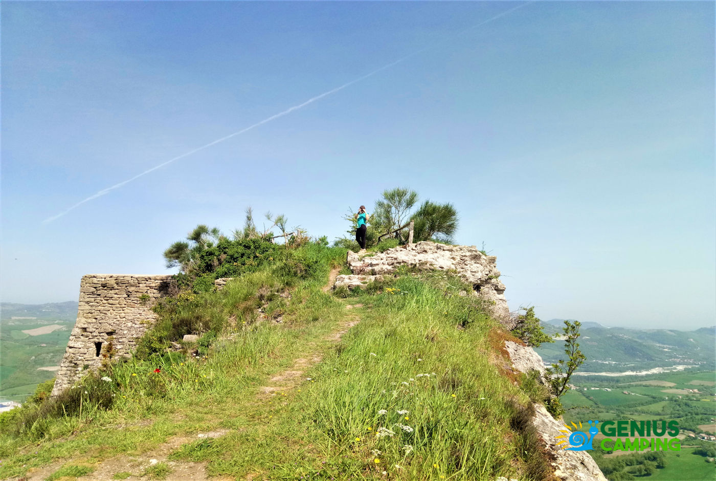 Valmarecchia e Montefeltro La rocca di Maioletto - rocca di Maioletto sommità