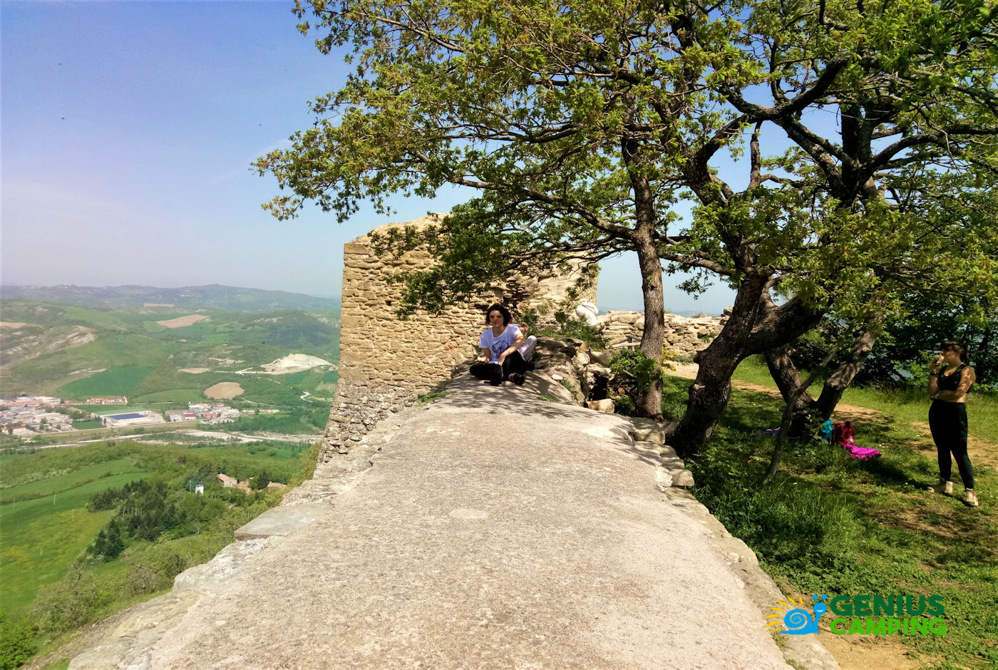 Valmarecchia e Montefeltro La rocca di Maioletto - rocca di Maioletto