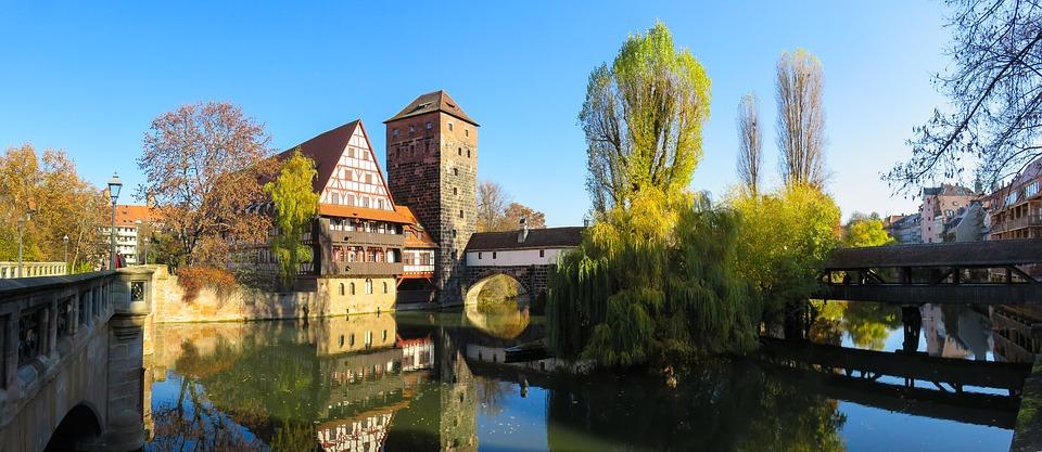 Cosa vedere a Norimberga- Vista da Museumbrucke