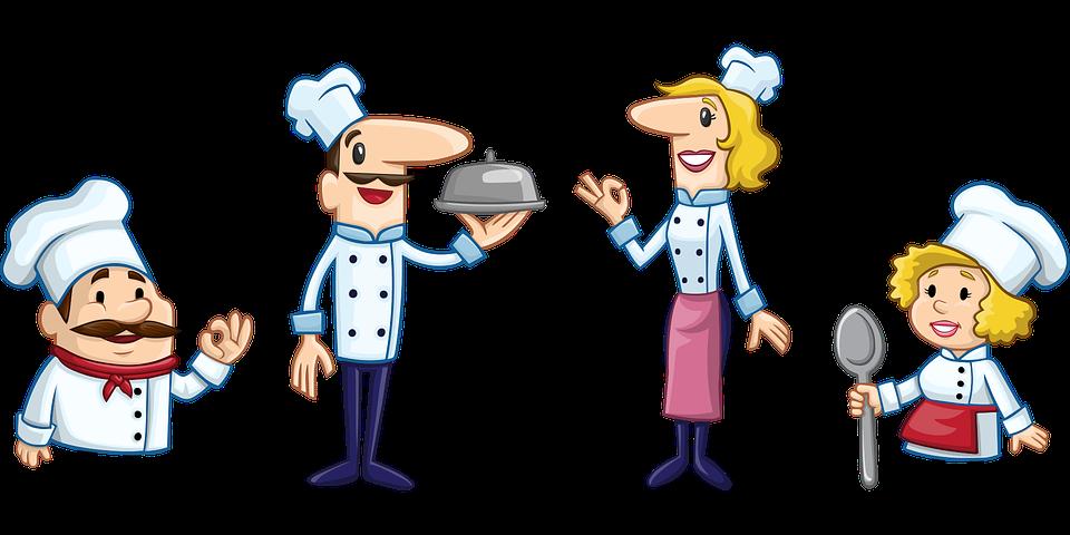 Trucchi per cucinare in camper cartoon
