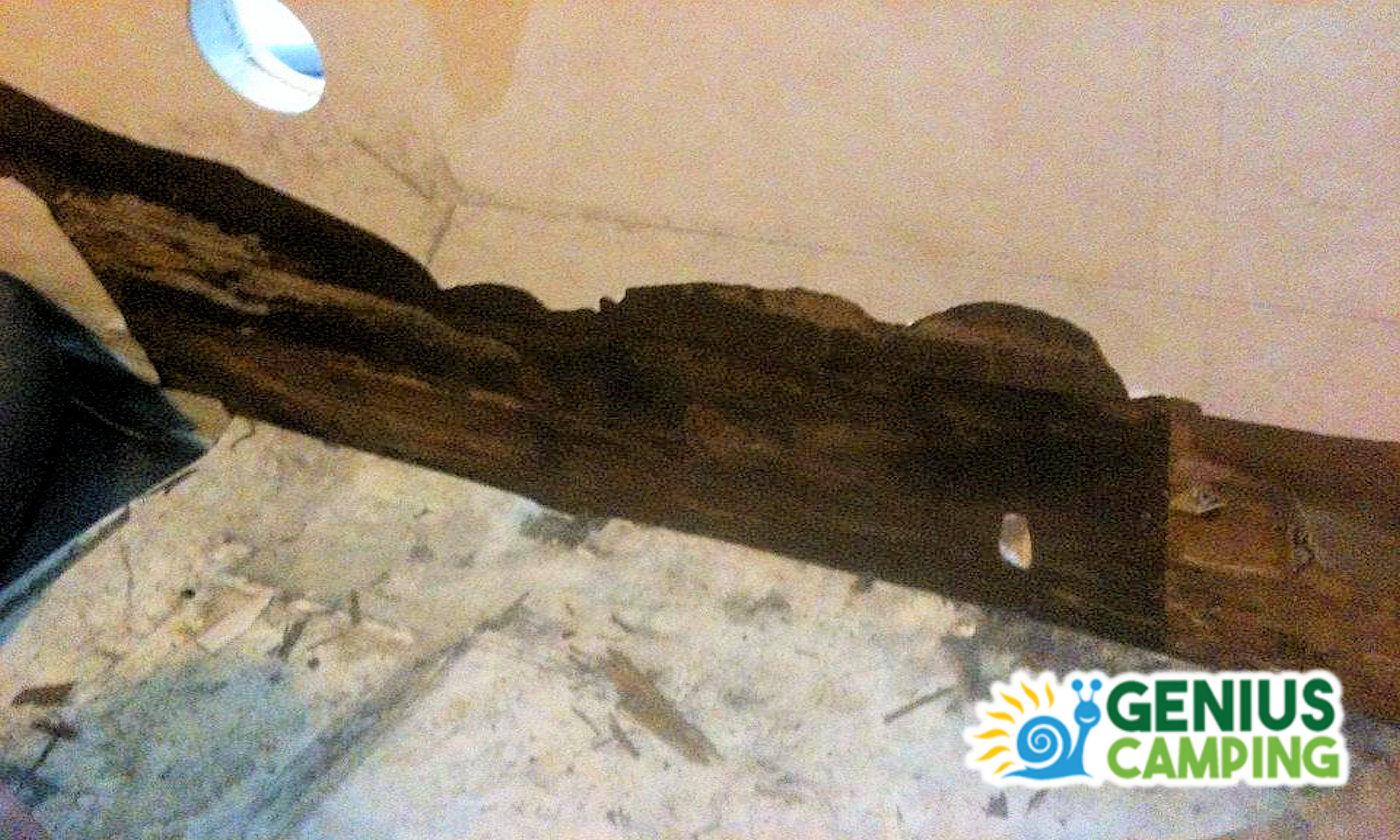 Infiltrazioni d'acqua nei camper e caravan - parete2