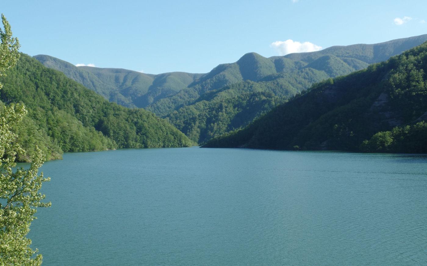 Diga di Ridracoli weekend nel casentino - Lago di Ridracoli