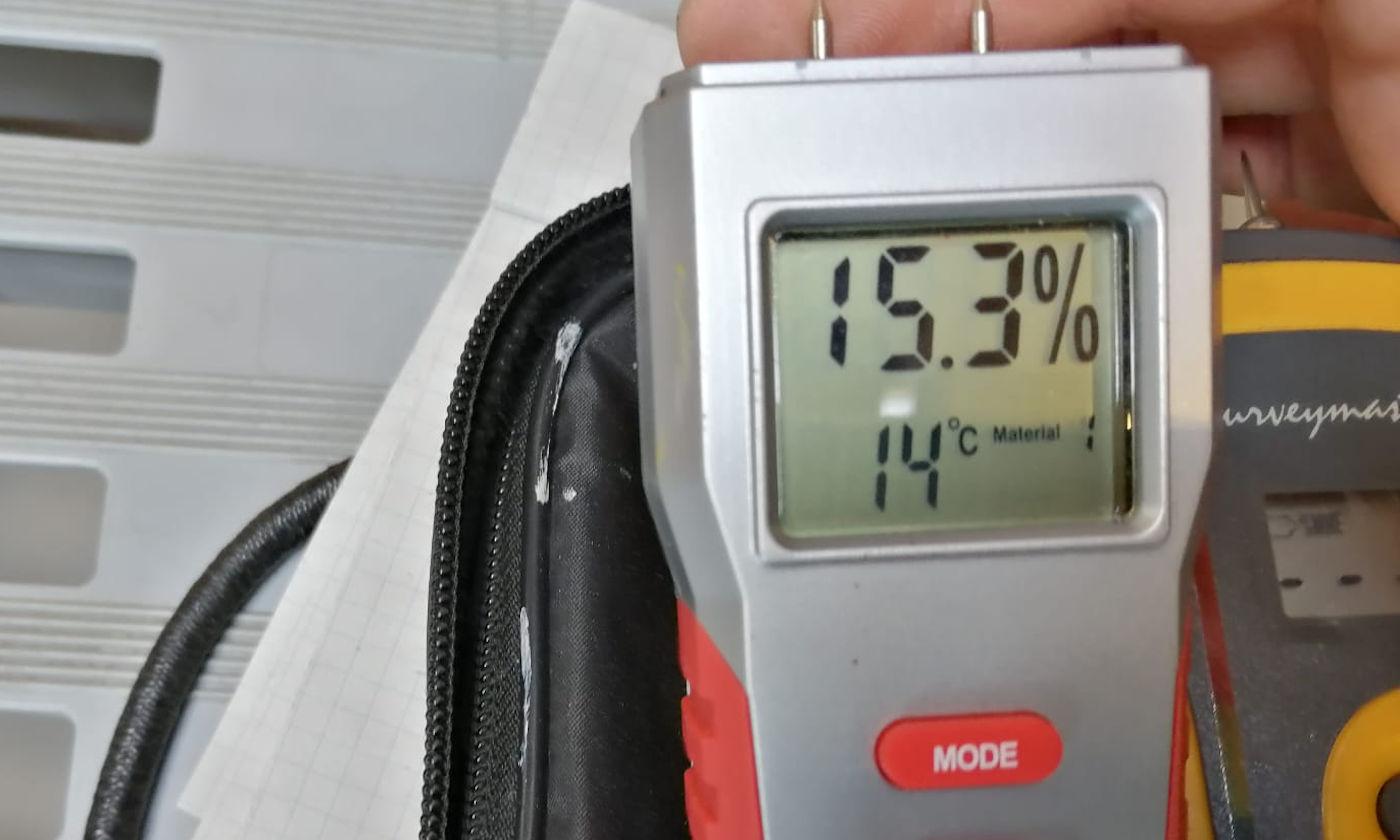 Igrometro per camper -Percentuale umidità